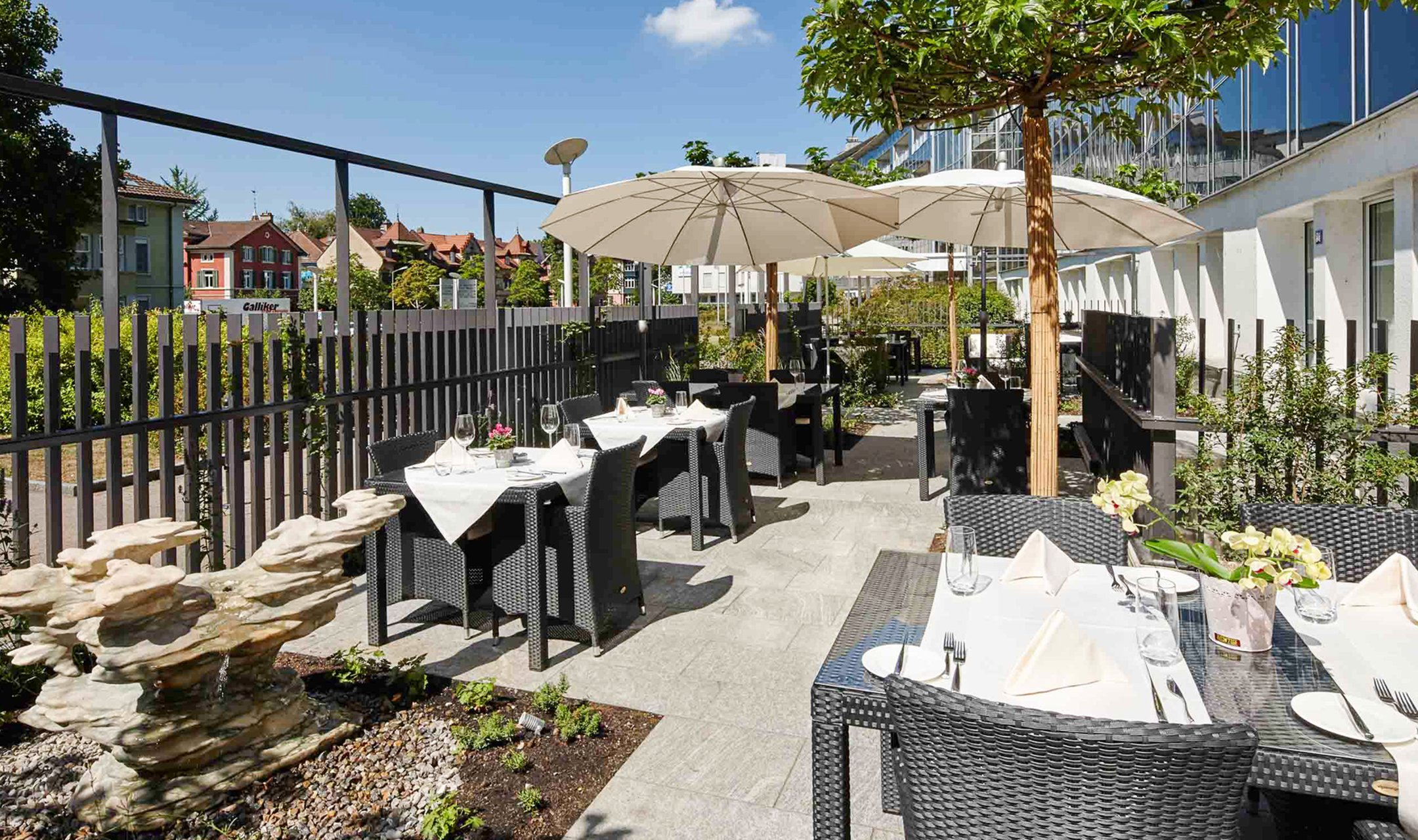 Terrace open again from April 19, 2021